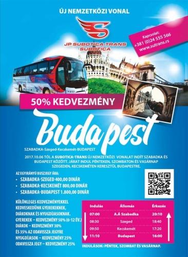 Új nemzetközi autóbuszjárat
