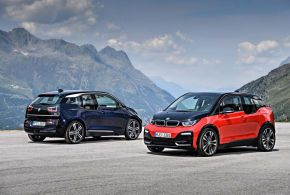 A BMW i3 most i3s lett