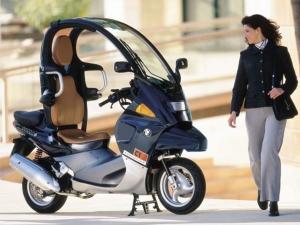 A BMW első robogói