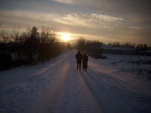Séta a hóesésben, avagy a várakozás csodája