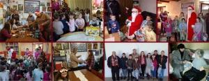 Ünnepi látogatások és ajándékozások Muzslyán