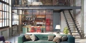 A loft lakberendezési stílus