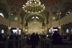 Felavatták a felújított szabadkai zsinagógát