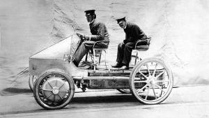 Az elektromos autózás száz évvel ezelőtt
