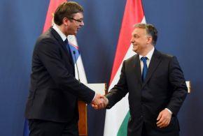 Vučić levélben gratulált Orbánnak