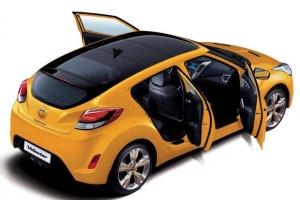 Utódot kap a Hyundai Veloster, ám a felemás ajtók maradnak
