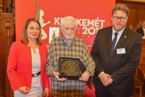 Életműdíj Árok Ferencnek