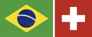 Brazília–Svájc 1:1 (1:0)