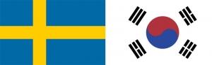 Svédország–Dél-Korea 1:0 (0:0)