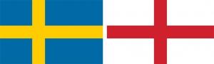 Svédország–Anglia 0:2 (0:1)