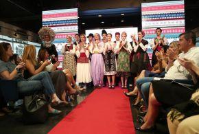 Exkluzív divatbemutató Belgrádban