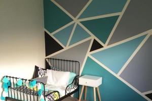 Fessünk geometrikus mintákat a falra!