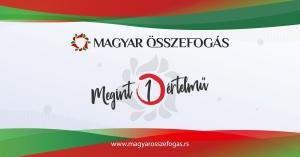 A Magyar Összefogás listájának közleménye