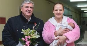 Kislány a község első újszülöttje Zentán
