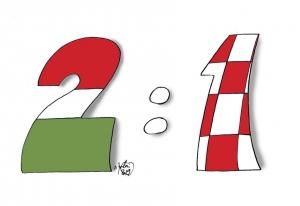 Magyarország—Horvátország 2:1 (1:1)